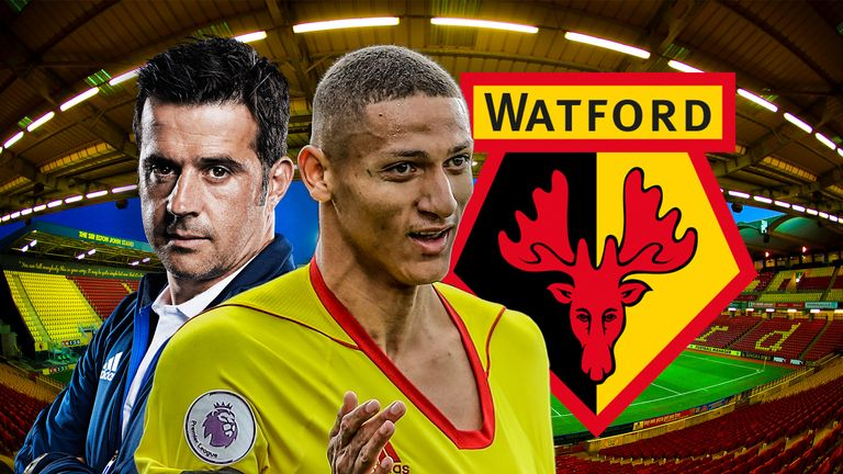 Richarlison has impressed for Marco Silva's Watford this season