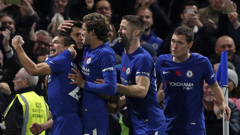 Statistically, Chelsea have the easiest December with six matches against sides currently in the bottom half