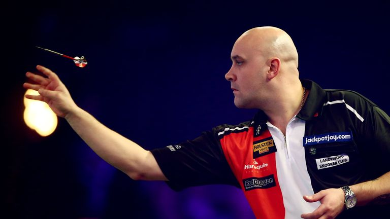 Jamie Hughes in action for the BDO
