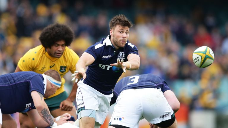 Ali Price's high-tempo game certainly benefited Scotland