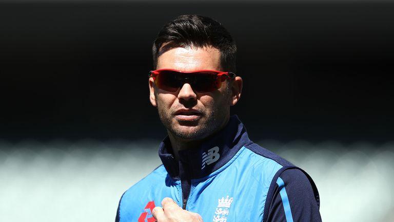 James Anderson is England's vice captain for the Ashes