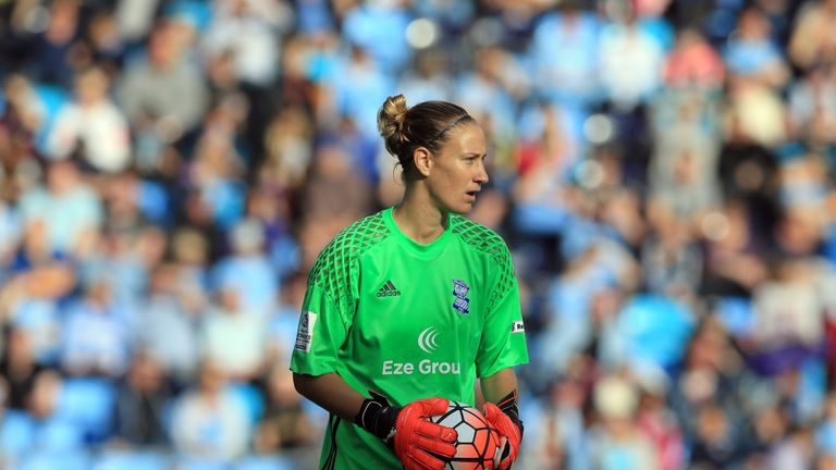 Birmingham are supporting Ann-Katrin Berger after her cancer diagnosis