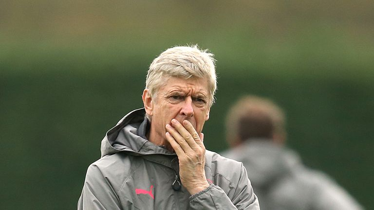 Arsene Wenger says he will always pick a team that is best for Arsenal