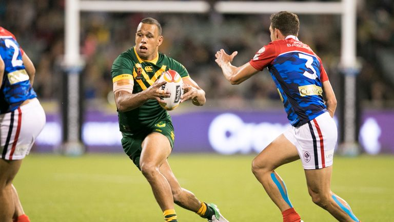 Australia registered a victory over France and confirmed their quarter-final spot