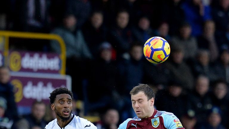 Ashley Barnes put in a man of the match performance against Swansea