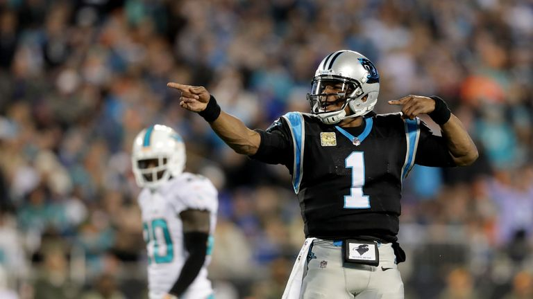 Is Cam Newton back to the type of form that saw the Panthers Super Bowl bound two years ago?