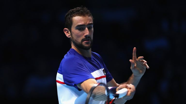 Cilic was unable to build upon his break lead in the decider