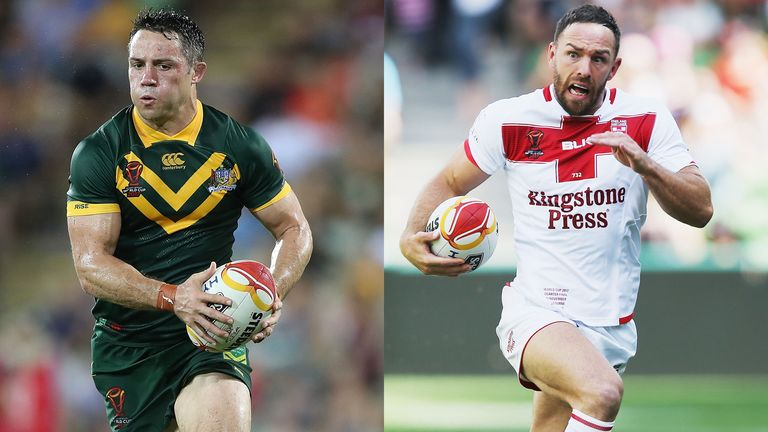 Cooper Cronk will come up against Luke Gale on Saturday