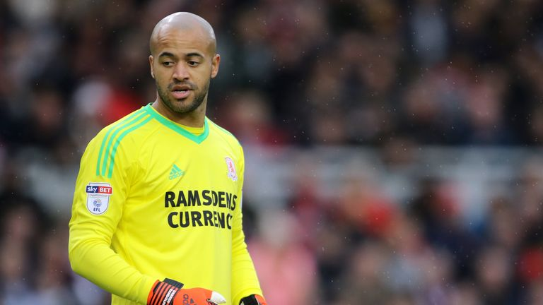 Darren Randolph is set for minor surgery on an abdominal injury