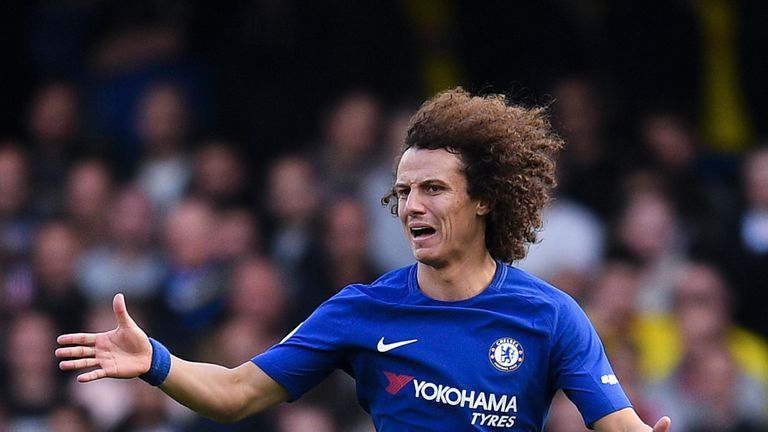 David Luiz hasn't played for Chelsea since November