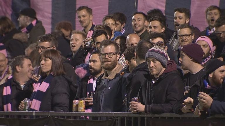 Dulwich Hamlet fans are aiming to be back at Champion Hill after a spell at Tooting & Mitcham begins on Tuesday