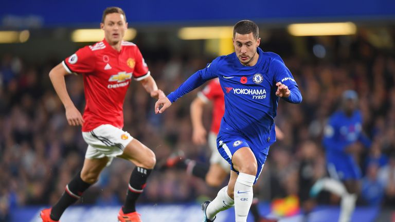 Eden Hazard has spoken of his admiration for Real Madrid boss Zinedine Zidane