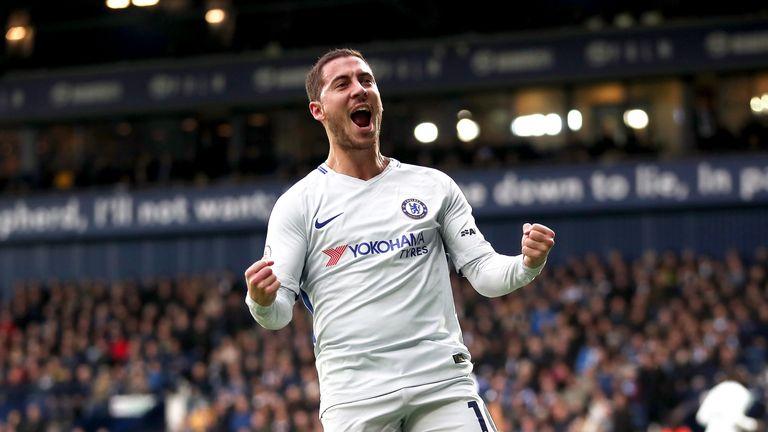 Eden Hazard's contract at Chelsea runs until 2020