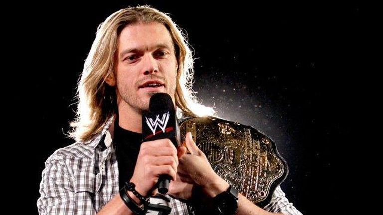 Edge held WWE's world title 11 times during his 15-year career with the company
