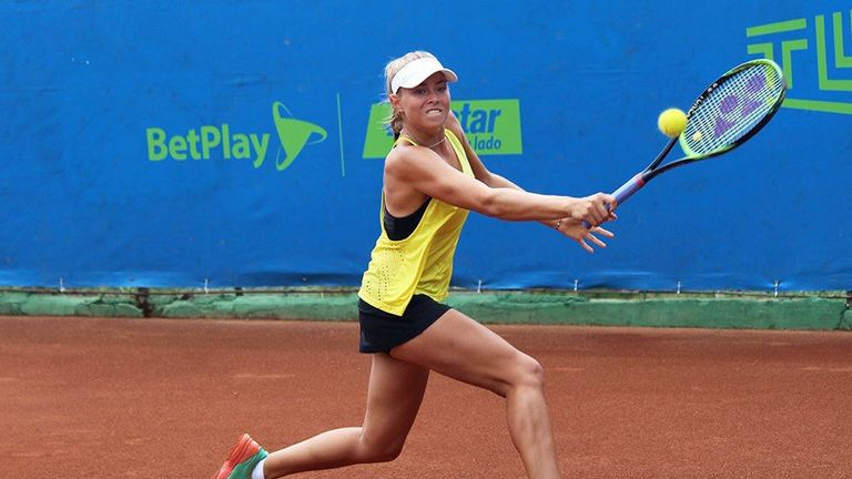 Emily performed heroics on the Colombian clay surface