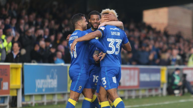 AFC Wimbledon have landed an exciting draw at Tottenham