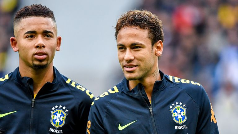 Image result for Neymar welcome at Real Madrid: Casemiro