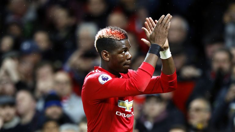Jose Mourinho praises Paul Pogba's 'great influence' on Man United