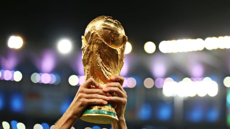 Who will lift the FIFA World Cup Trophy on July 15?