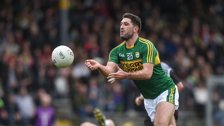 Bryan Sheehan made 66 championship appearances for Kerry