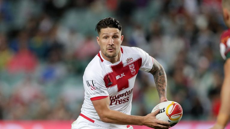 Gareth Widdop won the Dally-M five-eighth of the year award in 2017