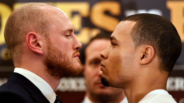George Groves believes Chris Eubank Jr will play a part in his own downfall