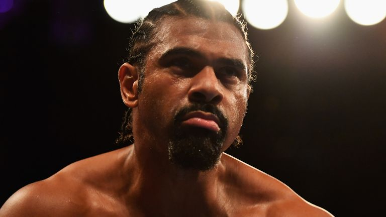 Haye has damaged a bicep which has forced the fight to be postponed