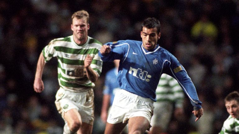 Giovanni van Bronckhorst enjoyed success at Rangers