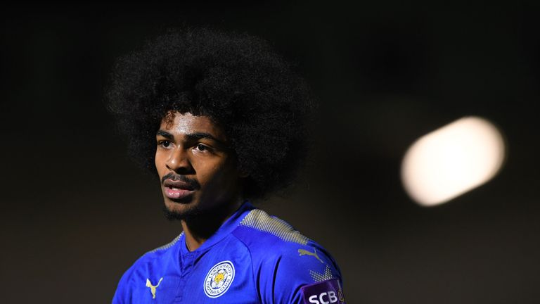 Leicester's Hamza Choudhury is one of just three British Asians playing in the Premier League