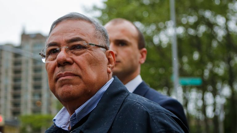 Julio Rocha is one of three former FA presidents who have been banned from all football-related activities for life