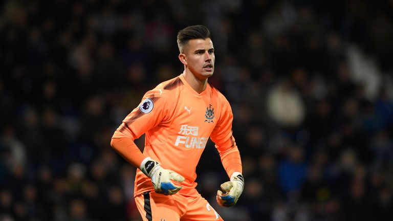 Karl Darlow is set to continue in goal with the absence of Rob Elliot
