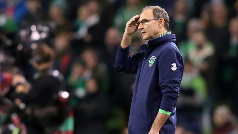 Martin O'Neill considered his future after Ireland's defeat in the World Cup qualifying play-offs