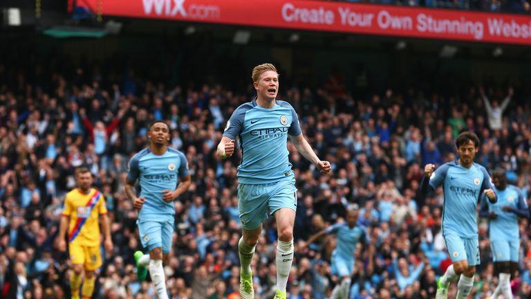 De Bruyne targets City trophy haul