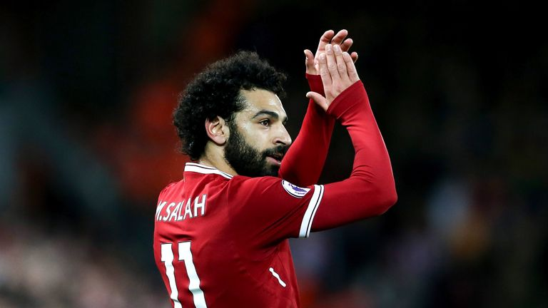 Mohamed Salah has scored nine Premier League goals this season