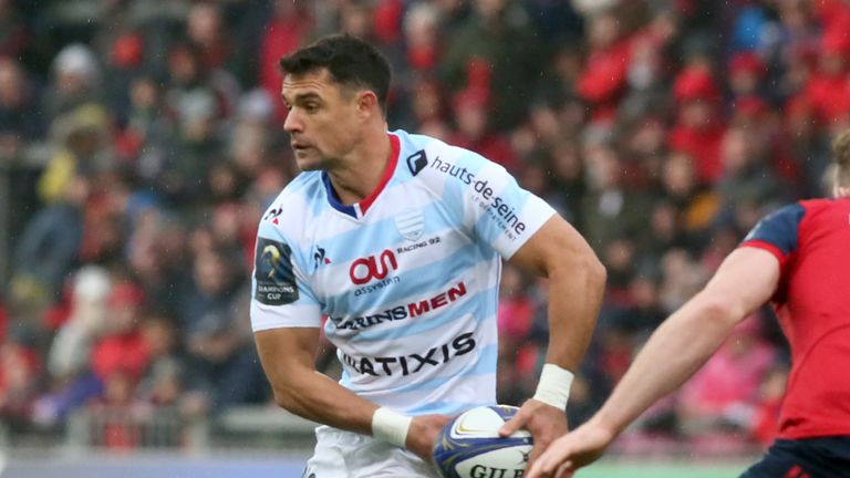 Dan Carter is a key man off the bench for Racing 92