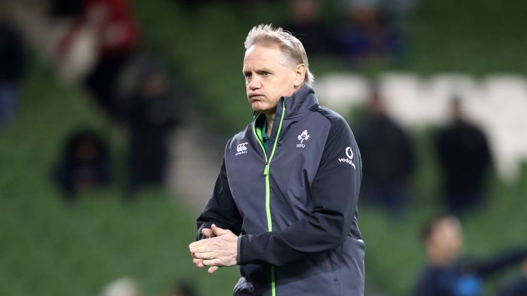 Ireland head coach Joe Schmidt will aim to record his first win at Twickenham