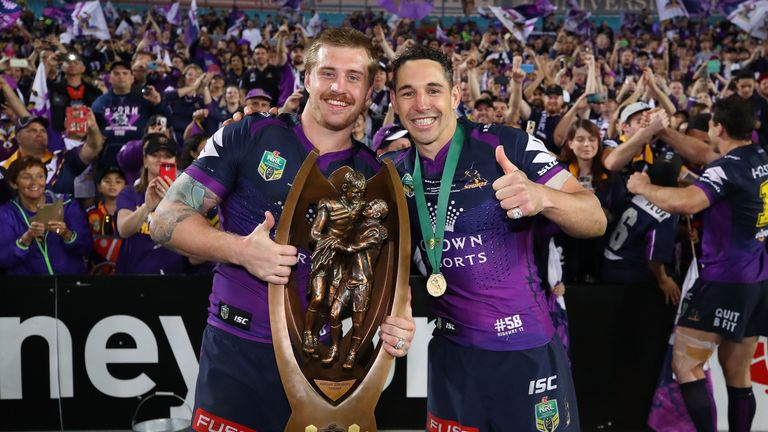 Melbourne beat North Queensland Cowboys in this year's NRL Grand Final