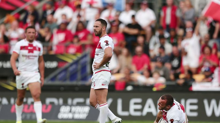 Hodgson suffered an anterior cruciate ligament injury against Tonga