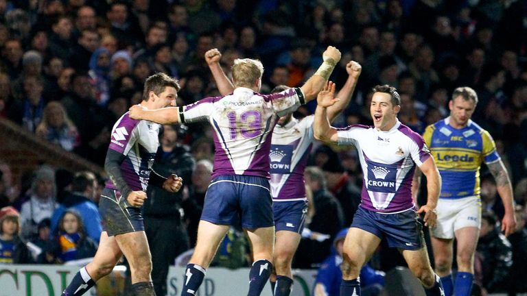 Melbourne were 18-14 winners over Leeds when they last met in 2013
