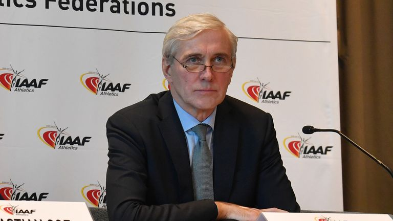 IAAF taskforce chairperson Rune Andersen