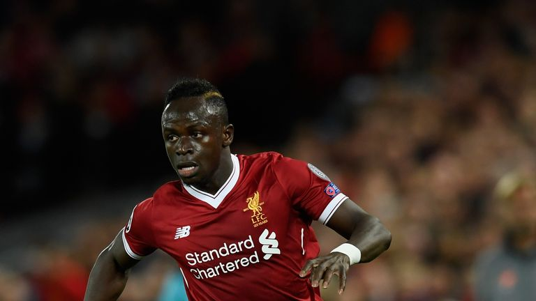 Liverpool striker Sadio Mane has returned to the club for assessment