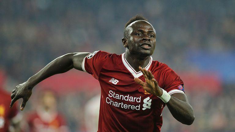 Mane scored nine goals in 21 appearances last season