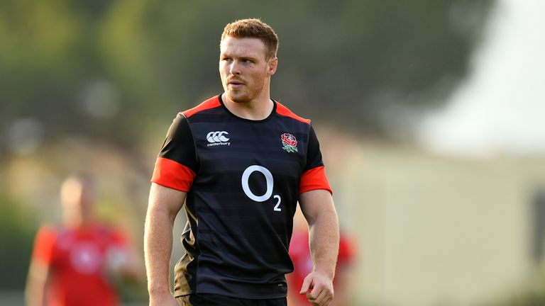Sam Simmonds has been handed his first England start by Eddie Jones