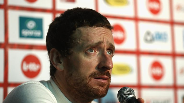 Sir Bradley Wiggins says it had been  'a living hell' for him and his family