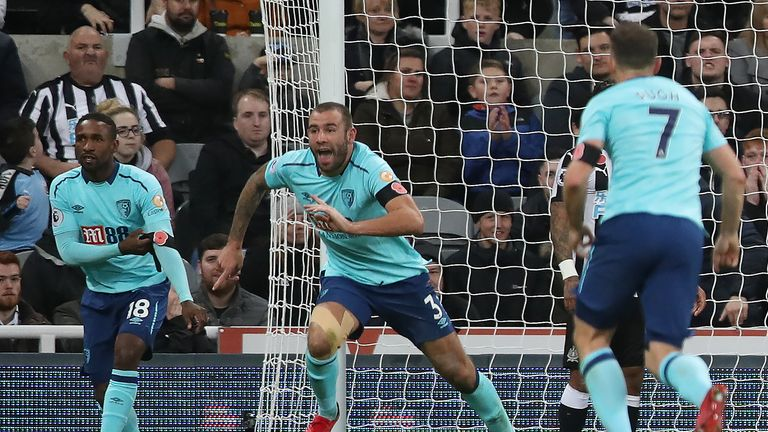 Steve Cook's injury-time winner for Bournemouth made it two defeats on the spin for Newcastle