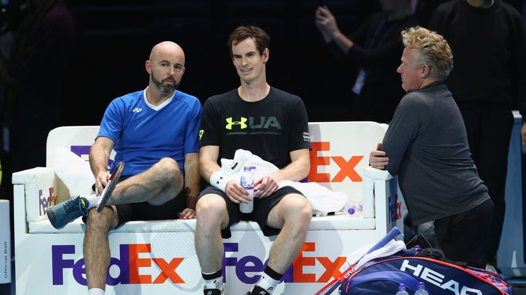 Jamie Delgado is now Murray's primary coach following the two-time Wimbledon champion's split with Ivan Lendl