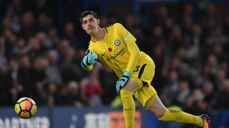 Courtois in no rush for new Chelsea deal