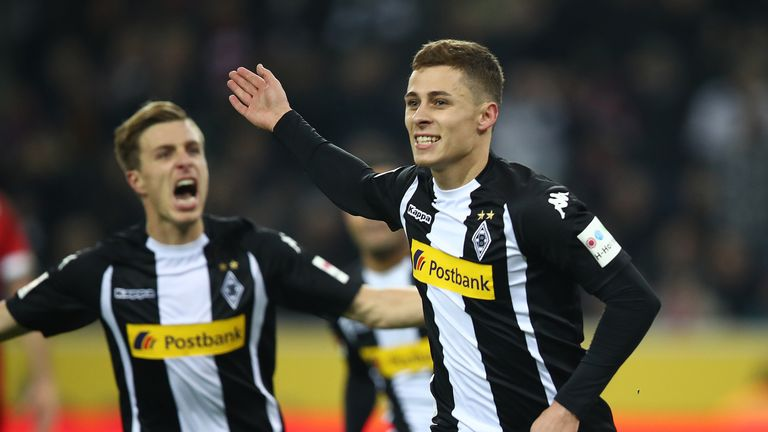 Thorgan Hazard scored in the win over Bayern