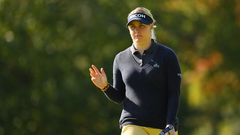 Hull battled a wrist injury during the summer, including during Europe's Solheim Cup defeat in Iowa