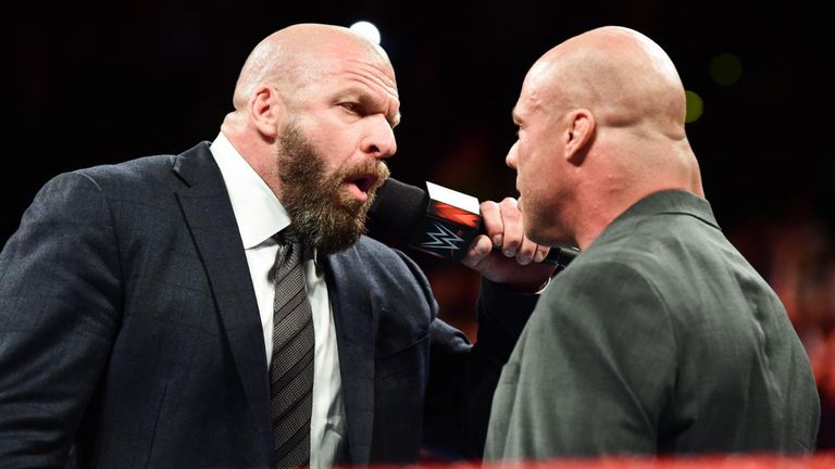 Triple H will join the Raw team for Survivor Series as a replacement for the injured Jason Jordan